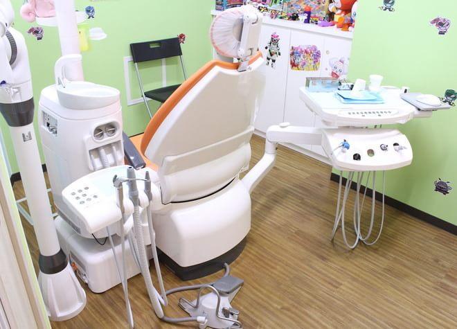 歯医者さんは楽しい場所と思っていただけるよう、おもちゃをたくさんそろえています