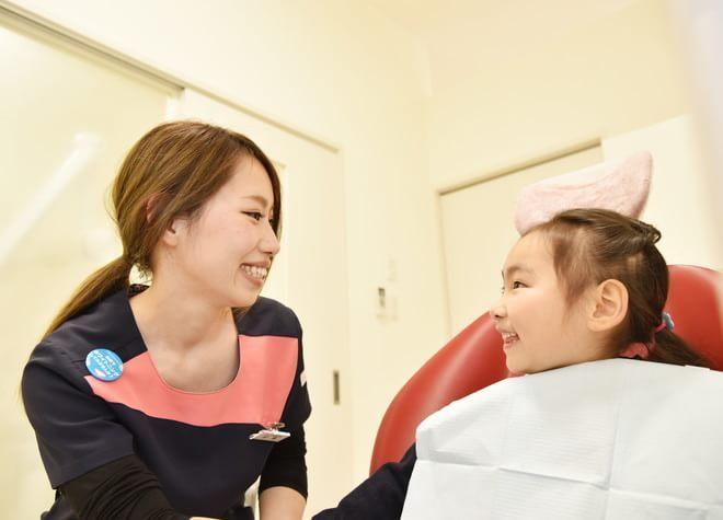 幼少時からの定期検診で虫歯のリスク管理を