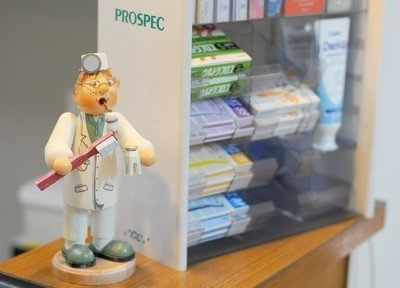 歯科用品をご用意しています。お求めの際はスタッフまでお声掛けください。