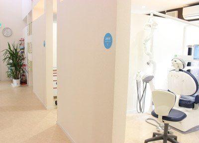 診療室は全て個室となっており、プライバシーに配慮しています。