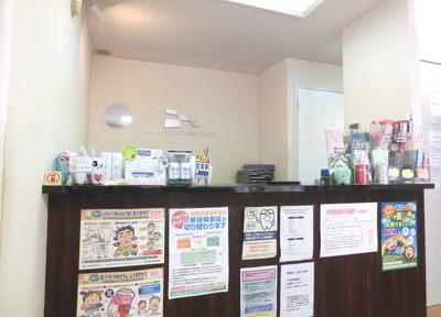 受付へ初診や月初めの際には、保険証の提出をお願いします。