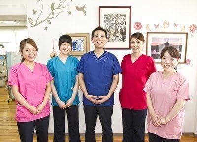 大平歯科診療所のスタッフです。常に向上心を持ち、診療にあたっております。