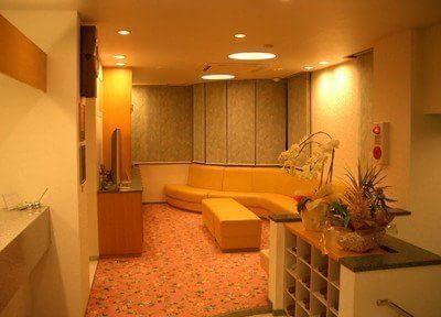 待合室はゆったりとしたリラックスできるスペースです。