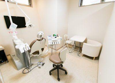 歯科医院に楽しく通えるよう、お子様の不安な気持ちをケア。少しずつ練習してから治療します