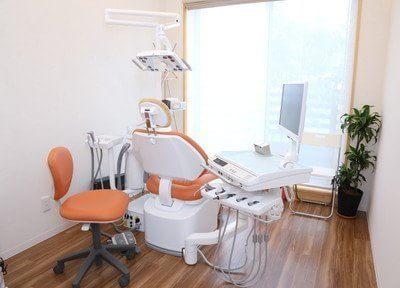 診療室です。こちらで治療いたします。
