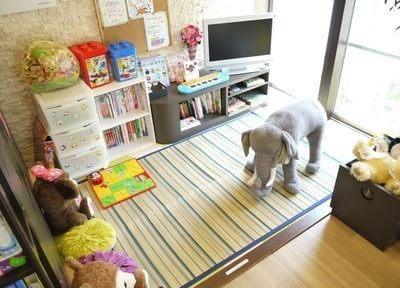 キッズスペースがあるので、お子様をお連れの方も安心して治療を受けて頂けます。