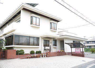 西岐阜駅2番出口より徒歩16分、上松歯科医院です。