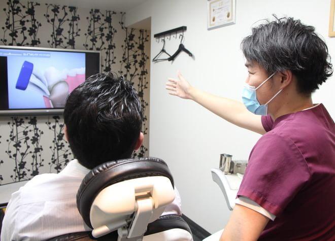 よりよい歯周病治療のため、わかりやすいブラッシング指導を心がけています