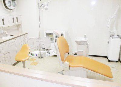 白を基調とした診療スペースは清潔な環境となっています。