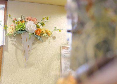 インテリアのお花です。
