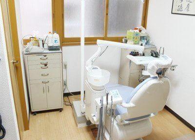 明るい雰囲気の診療室です。