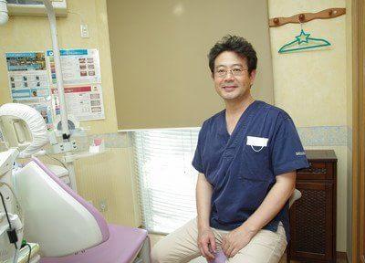 院長の篠原です。患者様を自分の家族のように考え、診療を行っています。
