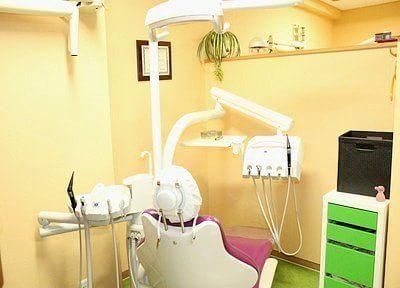 個室制の診療室なので、患者様のプライベート空間を確保できます。