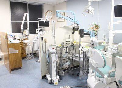 診療室です。質問があればなんでもお聞きください。