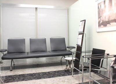 待合室です。ゆったりとお過ごしください。