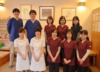 清水歯科医院のスタッフです。皆様のご来院を、心よりお待ちしています。