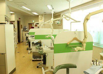 診療室はパーテーションで仕切られておりますので、患者様のプライベート空間を確保いたします。
