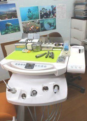 歯科医療に活用する器具です。