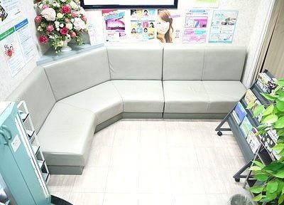 待合室です。こちらで診療までお待ちください。