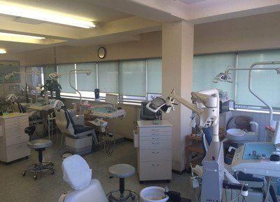 清潔感のある診察室です。
