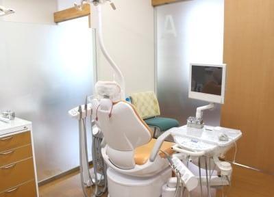 診療室です。一人一人の患者様に最適な治療を行います。