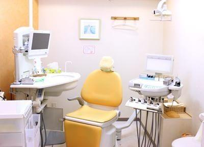 清潔感の光る、診療室です。
