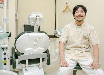 院長です。来て良かったと思っていただける歯医者を心がけております。