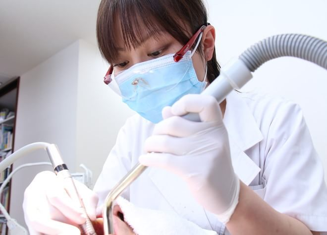 歯周病は患者さまと歯科医師が協力して治療をすることが重要です