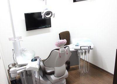 個室診療室を設けておりますので、他の方を気にすることなく治療を受けていただけます。