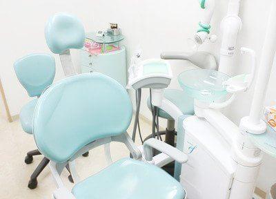 清潔感のある診療室になっています。