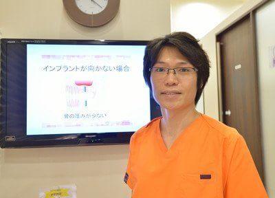 医師です。患者様がいつまでも笑顔でいられるように尽力いたします。