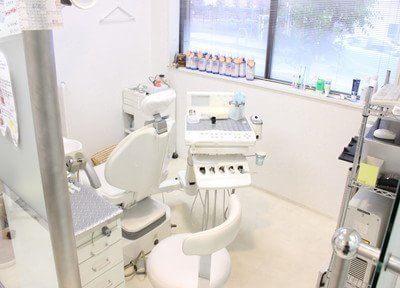 プライバシーに配慮した診療室です。