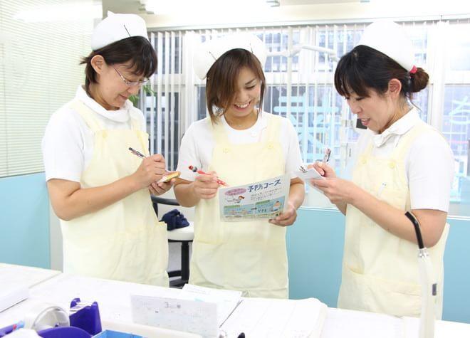 ドクターと歯科衛生士の密な連携。予防にモチベーションを持って取り組んでいただきます