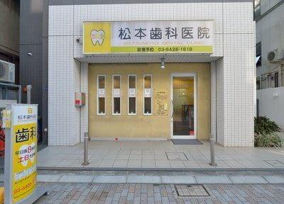 戸越駅より徒歩3分の位置にある、松本歯科医院の外観です。
