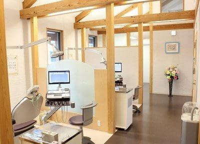 広々とした診療室です。