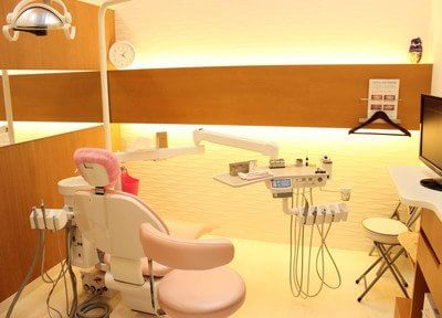 全室半個室の診療室です。