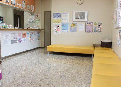 待合室です。お待ちの間、リラックスしてお待ちください。
